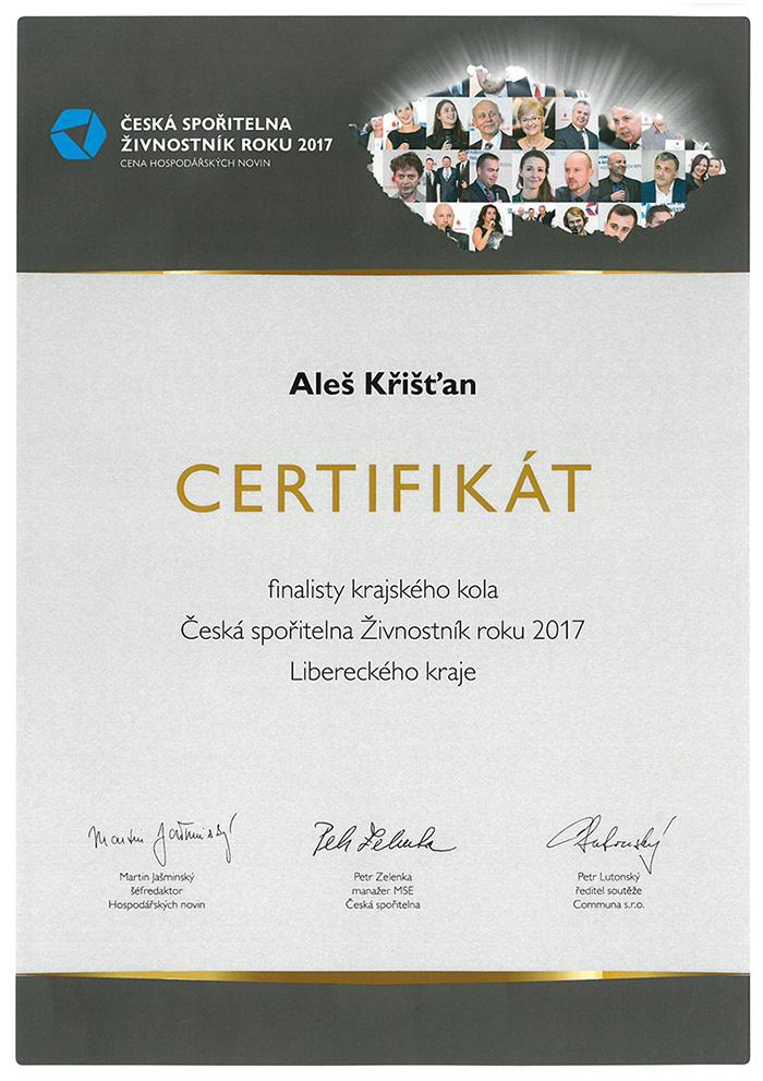 certifikat-zivnostnik-roku-2017